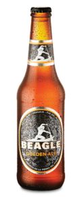 Botella de Cerveza Beagle Golden Ale