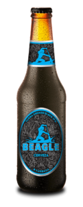 Botella de Cerveza Beagle Turba Smoked Black IPA