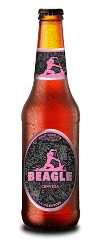 Botella Cerveza Beagle Brut Rose IPA