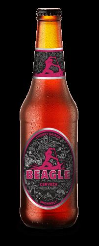 Botella de Cerveza Beagle Cherry Saison