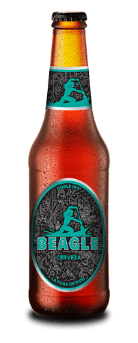 Botella Cerveza Beagle Doble IPA