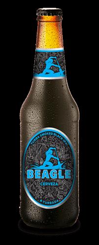 Botella Cerveza Beagle Turba Smoked Black IPA